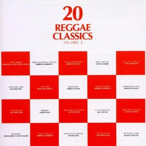 VARIOUS - 20 REGGAE CLASSICS VOLUME 3 CD TROJAN