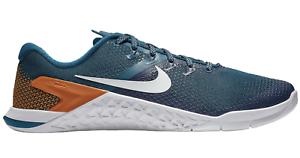 New Nike Metcon 4 87453-400 Blue Force/White/Monacrch/Orange Pulse Training c1 best-selling model of the brand