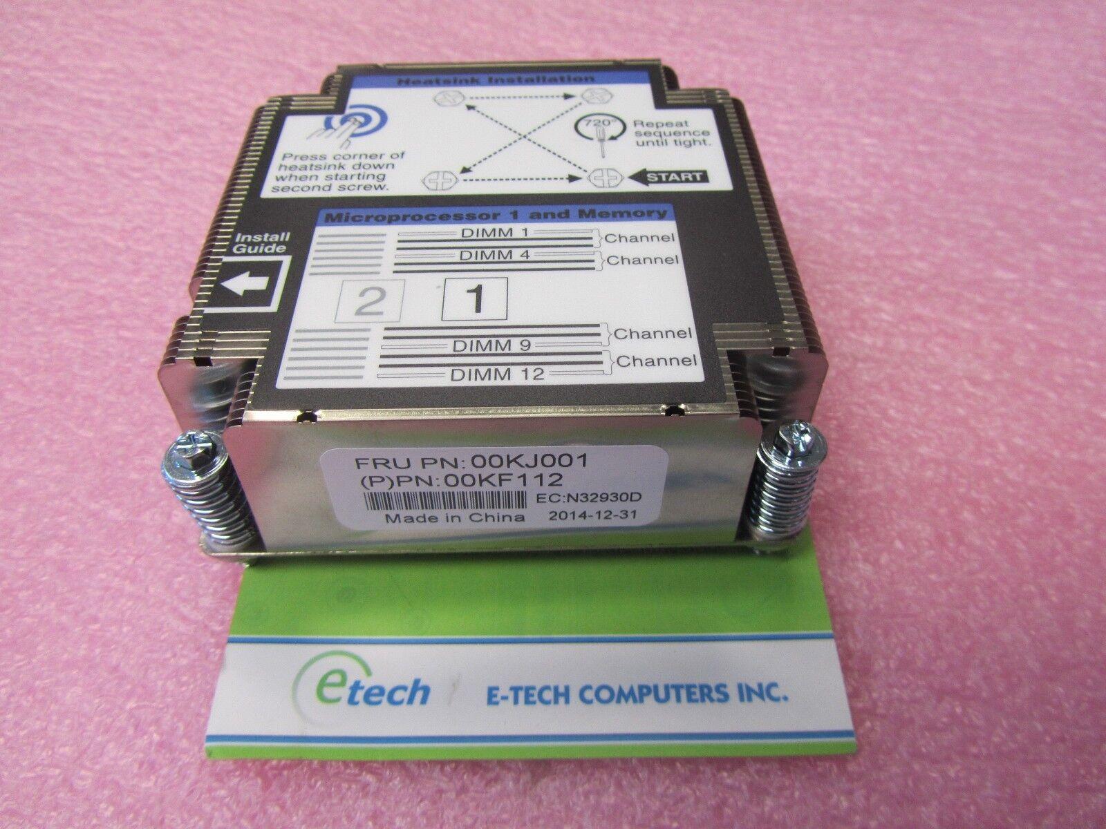 00KJ001 - IBM Lenovo Flex System x240 M5 CPU 1 Heatsink, 135W TDP