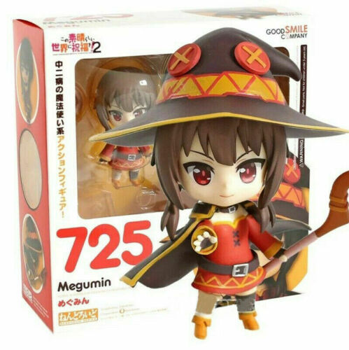 Anime Nendoroid 725 Konosuba MEGUMIN Action PVC Figure birthday gift