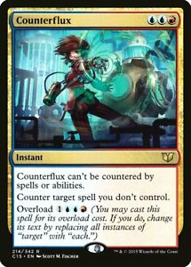 Synthetic Destiny Commander 2015 NM Blue Rare MAGIC GATHERING CARD ABUGames
