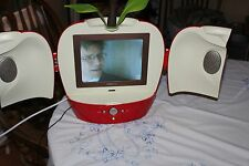 Hannspree Model T091 Red Apple LCD TV / Television 2005 12V