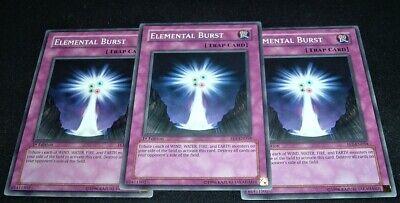 1st Edition M//NM Yugioh Elemental Burst FET-EN059 Common