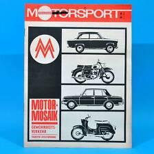 DDR Illustrierter Motorsport IMS 6/1968 Tony Black Rallye-DDR Moto-Cross B