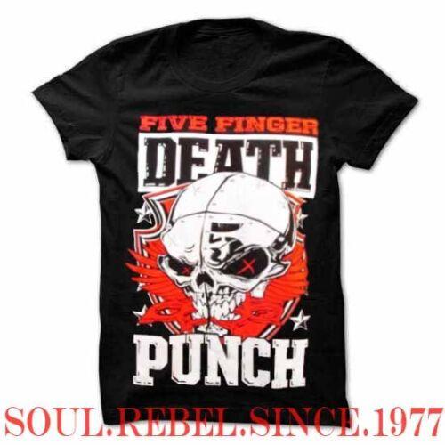 FIVE FINGER DEATH PUNCH PUNK ROCK HEAVY METAL MEN/'S SIZES T SHIRT