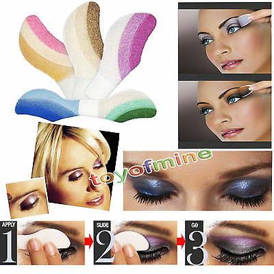 2 Pairs Instant Eyeshadow Shade Temporary Tattoo Makeup Sheets Eye Magic Sticker