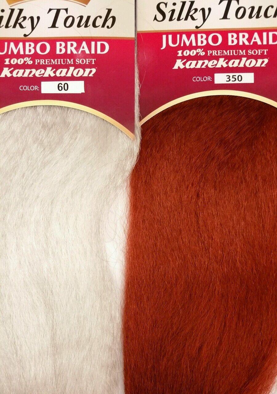 Model Model 100 Premium Soft Kanekalon Silky Touch Jumbo Braiding