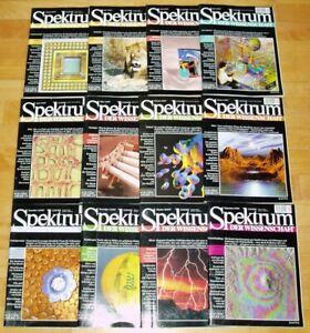 Spektrum-der-Wissenschaft-1997-komplett-Jahrgang-Sammlung-Zeitschrift-Science