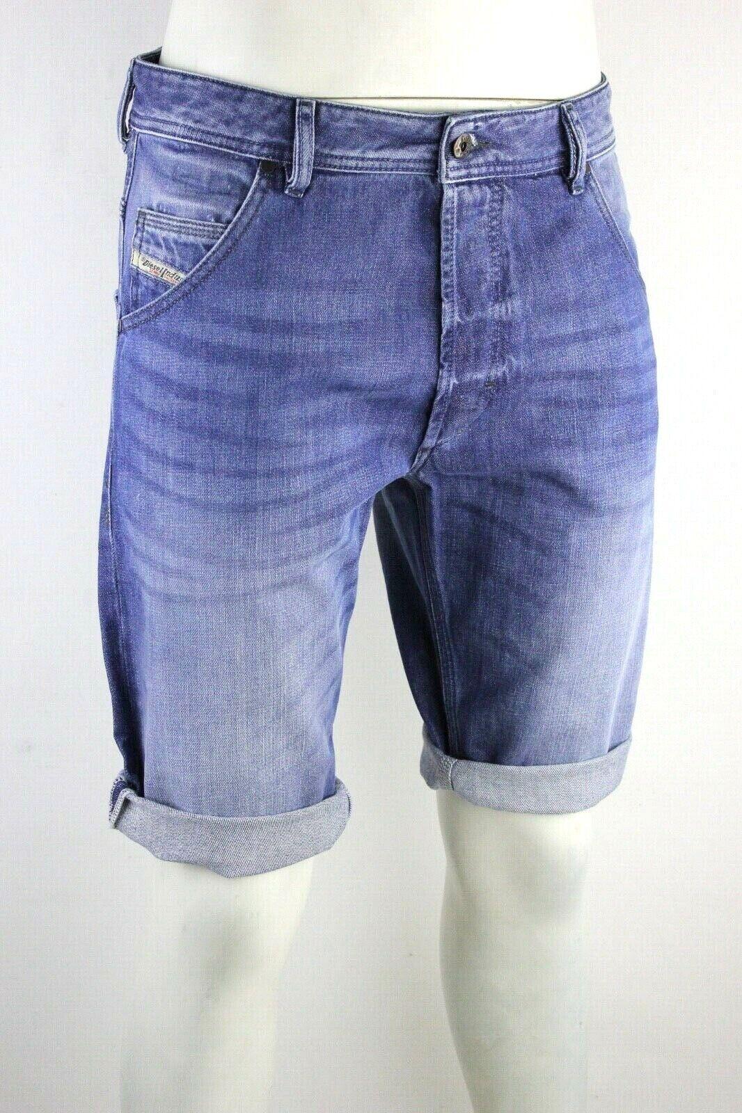 Diesel Men's Kroshort 0839C Jeans Shorts Shorts Pants Shorts Jean Shorts bluee