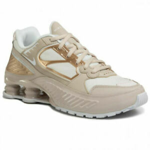 Nike-W-Shox-Enigma-9000-Sand-Multi-Size-US-Womens-Athletic-Running-Shoes