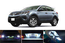 LED for Toyota Rav-4 Xenon White License Plate/Tag LED Lights Bulbs (2 pieces)