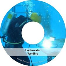 Underwater Water Weld Welder Arc Welding Training PDF Manual Books on CD