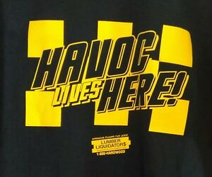 VCU Rams Basketball Black Havoc Lives Here T Shirt Adult XL Extra ... f3307b81a