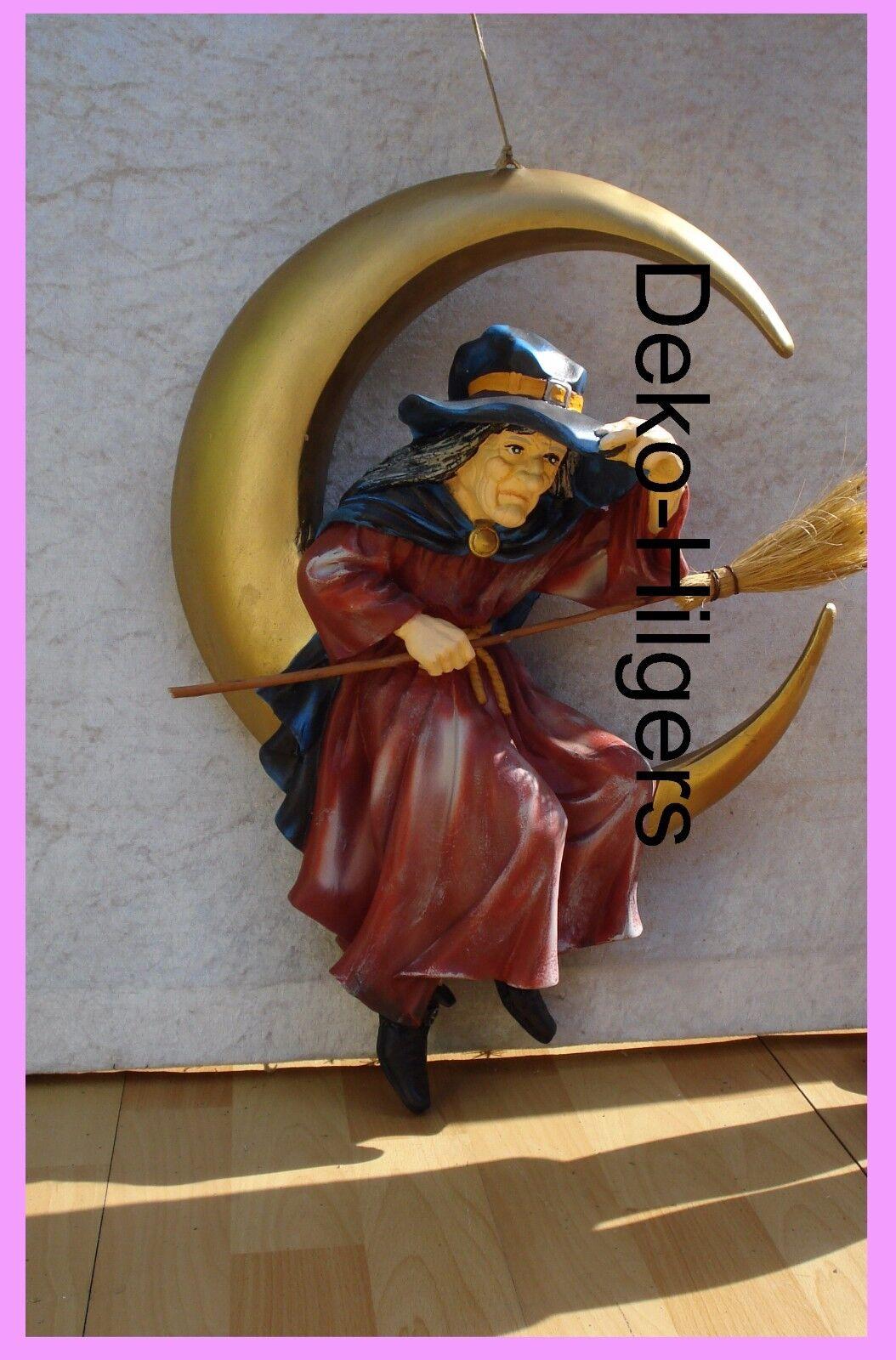 Figur Hexe Im Mond Skulptur Film Werbefigur Kino Groß Deko Zum Hängen Dekofigur