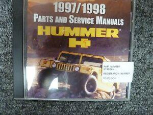 2000 hummer h1 wiring diagram 1997 1998 hummer h1 suv convertible parts catalog   service repair  hummer h1 suv convertible parts catalog