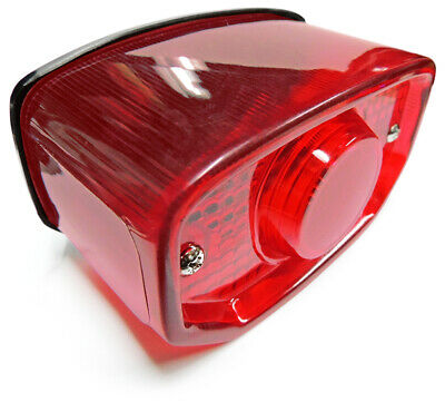 Yamaha GT80 GTMX LB50//80 XS1//2 XS500 Taillight Tail Rear light Reflectors Red