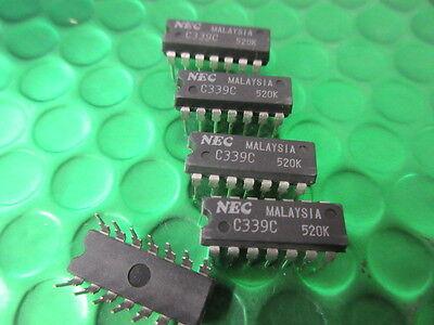 ORIGINAL NEC * FOR 10 CHIPS* £1 each! UPC5023 NEC IC UK STOCK 22 PIN DIP