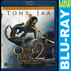 Details About Ong Bak 2 Collectors Edition Blu Ray Alternate Cut Tony Jaa Sorapong Chatree
