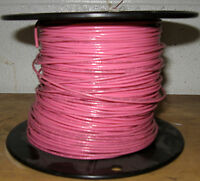 Tfn/mtw/awm 18 Awg Fixture Wire - Solid Copper - 600v - 6 Amp Pink