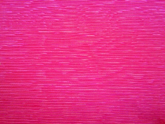 3/4 Yd-Awesome Designer BRIGHT PINK FUSCHIA Embossed Bengaline FAILLE Fabric