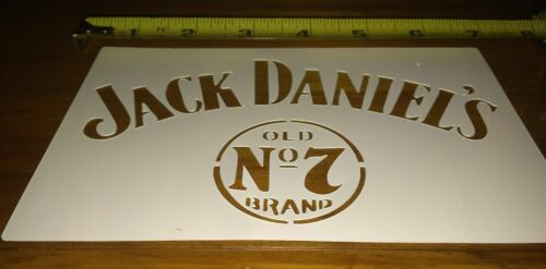 Jack Daniels Airbrush Stencil 1 Layer 4 variations Many sizes available