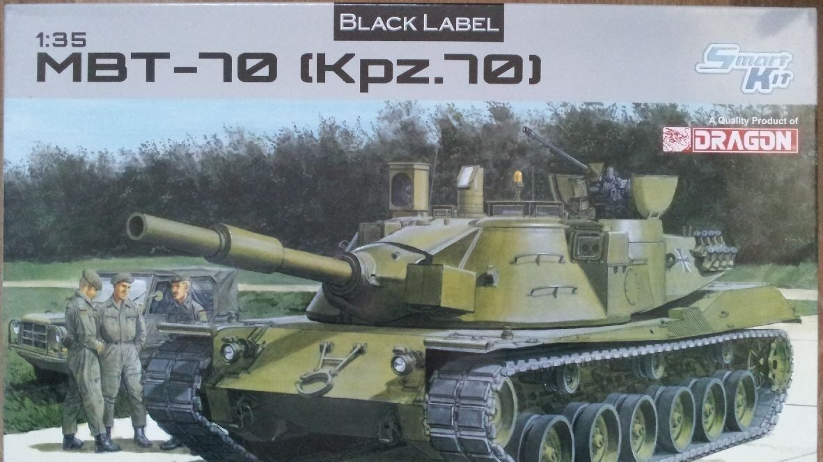 DRAGON MBT 70 KFZ.70 Scala 1 35 Cod.3550
