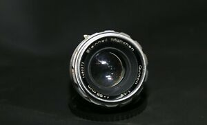 Steinheil-Munchen-Quinon-55mm-f1-9-m42-Mount-Kamera-Objektiv-v-selten