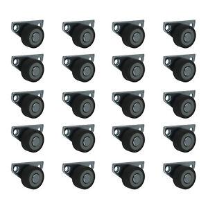 20-x-30-mm-Kastenrolle-Bettkastenrolle-Kastenbockrolle-Seitenrolle-mit-Softrad