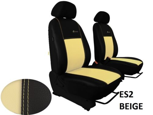 ECO LEATHER TAILORED FRONT SEAT COVERS FOR LAND ROVER FREELANDER Mk2 2006-2014