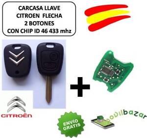 LLAVE-CARCASA-CITROEN-SX9-C1-C2-C3-C4-XSARA-SAXO-PICASSO-MANDO-CHIP-ID46-433-MHZ