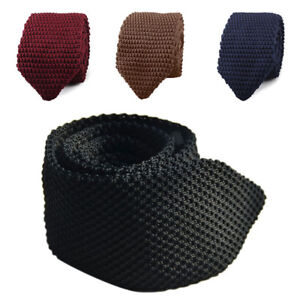 Fashion-Men-039-s-Tie-Knit-Knitted-Tie-Necktie-Narrow-Slim-Skinny-Woven-Men-NiceGift