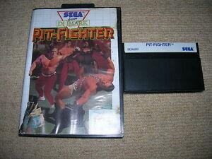 PIT-FIGHTER-Rare-Boxed-Sega-Master-System-Game