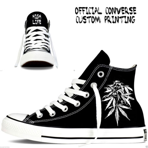 de personnalisées Chaussures Converse All Mens Star Dank Dab cannabis gCdSxqpw