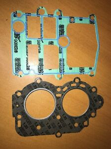 Cylinder Head /& Base Gasket for 9.9HP 15HP Yamaha Mariner Outboard 6E7-11181-A2