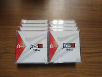 Lot Of 8 Iomega Zip Brand 100mb Super Floppy Disks (pc)