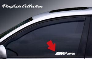 2X-PEGATINAS-M-POWER-CRISTALES-STICKER-DECAL-BMW-MOTORSPORT-WINDOW-GLASS-E36-E39