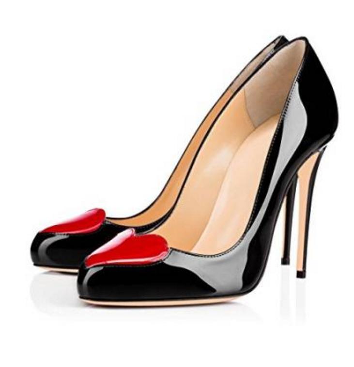 2019 sexy femme compensés à bout pointu pompe Soirée Talon Haut chaussures UK SZ 35-47