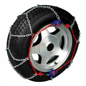 Auto-Trac-153505-Series-1500-Pickup-Truck-SUV-Traction-Snow-Tire-Chains-Pair