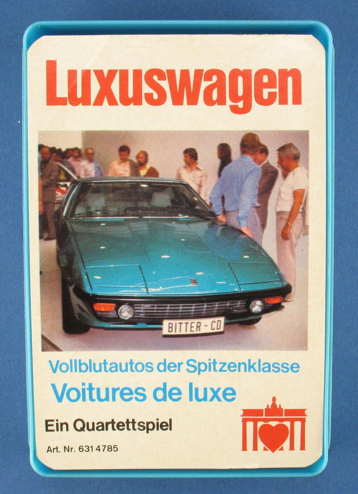 Cuarteto-coche de lujo-Berliner nº 631 4785 - 1976-auto-spanska portón