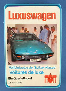 Quartet - Voiture de luxe Berliner N ° 631 4785 Porte de Brandebourg 1976