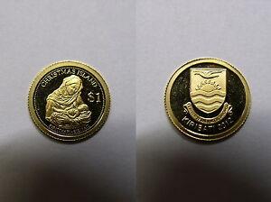 Bescheiden Kiribati , 1 Dollar 2012 Pp , Mutter Gottes M. Kind , Kleinste Goldmünze , # 10 Einfach Zu Verwenden