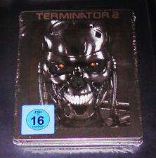 TERMINATOR 2  MIT 3 FILM VERSIONEN LIMITIERTE STEELBOOK BLU RAY  NEU & OVP
