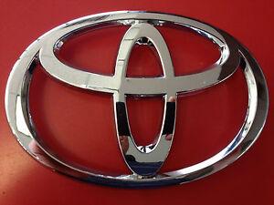 1997-2000 Toyota Corolla Front Grille Emblem Chrome Logo Genuine OEM 75311-02050