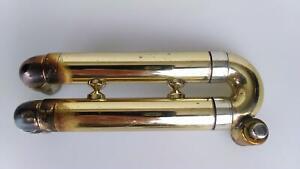 Vintage Selmer PARIS Piccolo Trumpet 4th Valve Slide Assembly Detachable