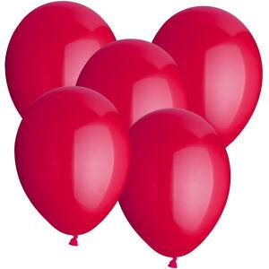 SALE-Latex-Luftballons-30-cm-rund-10-Stk-bordeaux-Dekoballons-Raumdeko