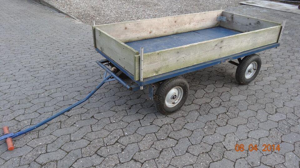 Trækvogn B100 x L200 H47 med sidefjælde
