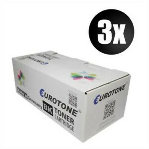 3x Eco Eurotone Toner Black For Canon C-EXV6 NP-7160 NP-7161 Approx. 6.900 Pages
