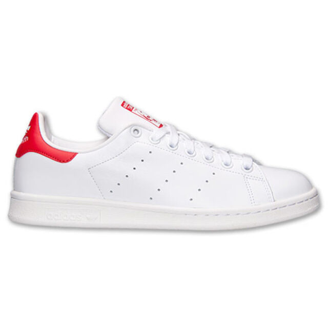 Adidas Sneaker Stan Smith Bianco Rosso M20326 45 13