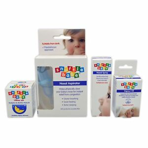 boxed 15ml Provided Snufflebabe Nasal Aspirator
