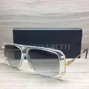 2a75ae400b5 Cazal Mod 633 3 633 3 Sunglasses Crystal Gold 65 Authentic 58mm